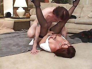 Hot milf and her younger lover 465