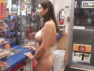Latina Naked Shopping
