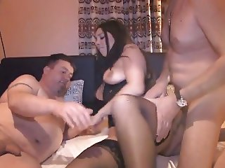 latina wife cuckold creampie