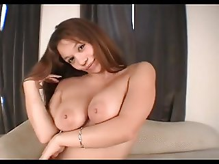 BLEACHED: Busty Latina Fucks a Big White Cock BWC