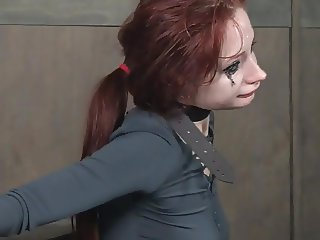 BDSM face fuck with body shaking orgasms