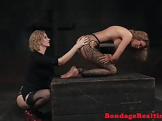 Pissing submissive worships femdoms feet