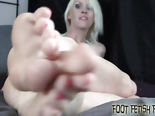 My sexy little feet are just begging to be worshiped