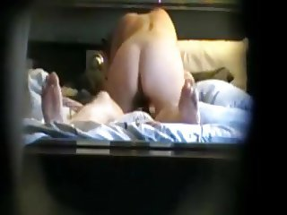 My aunt rubbing her pussy and fucking in my uncle's mouth