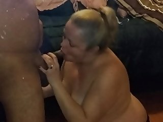Outake- blonde sucking cock