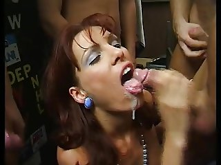 groaning gangbang slut