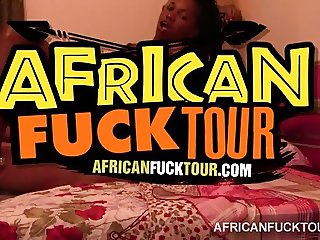 Raisa gets her African pussy smashed