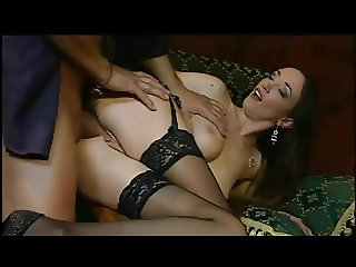 Ginevra Hollander and her friend play with big cocks