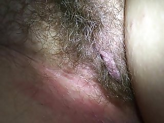 checking out wife's pussy after she gets back from a party