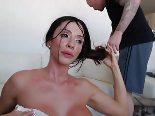 Brunette With Big Tits Enjoying Sex On Webcam