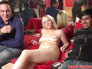 Amsterdam hooker banged by client