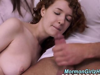 Mormon teen gets facial