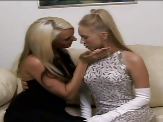 Brea Bennett and Emilianna Hot Lesbian Fingerfuck