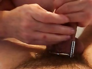 Uncaging My Cock for Handjob SPH