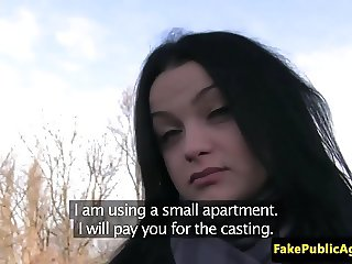 Amateur european pulled before cocksucking