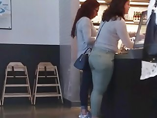 Young tight phat booty