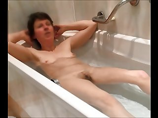 want to join my unaware wife in her bath?