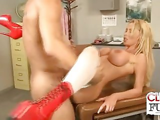 Nurse Nikki Gets Jizzed On Tits