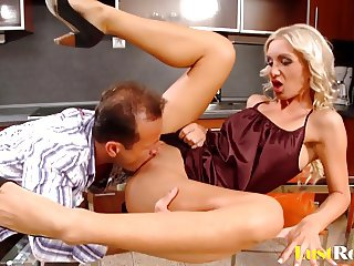 Hot Cameron Gold extracting cum with fucking and blowing