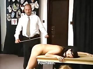 Alex Zothberg - severe spanking by cane(short version)