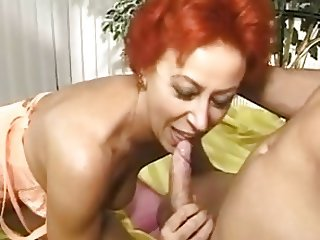 German Mature Fucked By Young Man