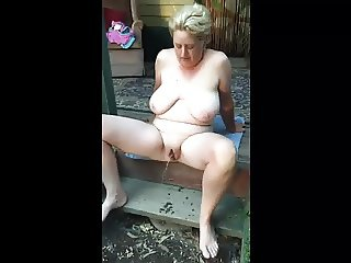 front porch piss