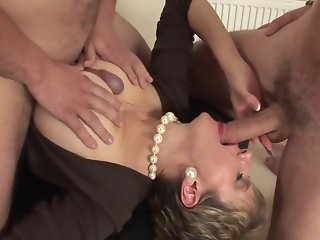 British lady and 2 guys
