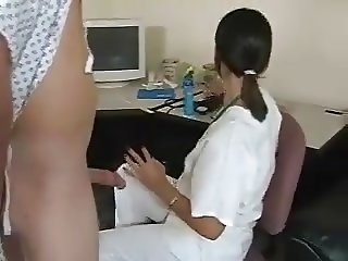 Inspection of penis by nurse