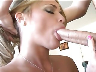 Busty Blonde MKM Deepthroat Face Fuck 2 Facials
