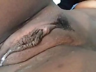 My clit during orgasm