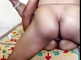 60 yrs old Maid fucked by her landlord's son