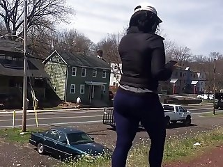 The Jiggle on Her Ass
