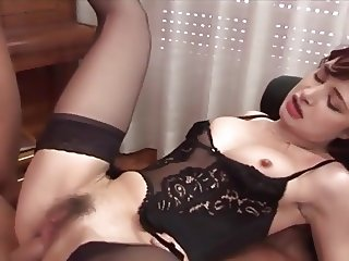 Hot milf and her younger lover 738