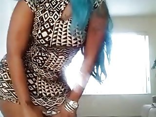Big Booty Slut Blue Hair Two
