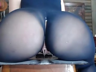 PWAG big ass butt in leggins big wer creamy pussy lips