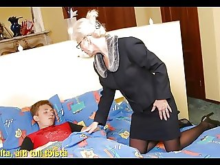 Slideshow with Finnish Captions: Mom Olga 2