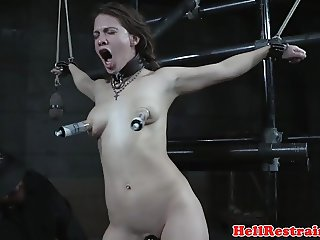 Whipped religious sub punished for beliefs