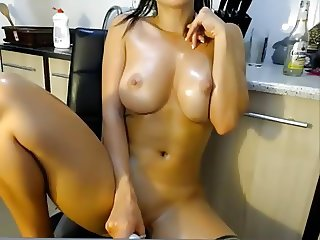 Perfect girl masturbating until orgasm on SexoWebcam.Online