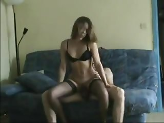 Geek Secretary fucking with her Young Co-Worker (Full)