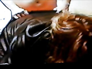 Leather sunglasses blow job and fucl!