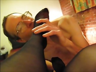 Mistress Queen Slutty Stocking Feet Worship