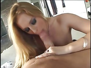 natural blonde fucks and sucks a long dick