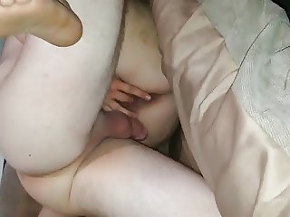 Friend plays with wifes pussy