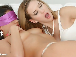 Candy Sweet and Aida Sweet in Playing girlfriends lesbian