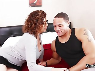 Busty Tutor Sara Jay Fucks The Jock To Help His Grade!