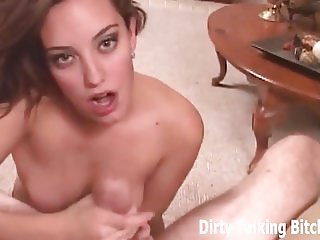 Give me your big cock so I can suck it dry JOI