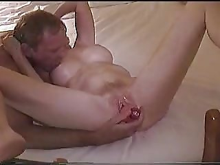 Getting My Pussy Dildoed So Fucking Hot MILF Dildo