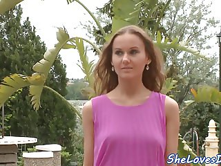 Dp banged euro beauty gets rimmed