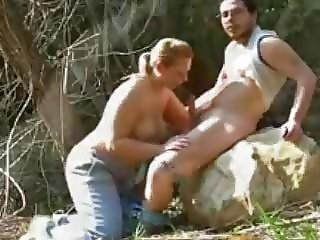 Great Moments in Topless Babes Giving Head