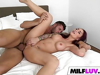 Nice shaped cock for sexy MILF